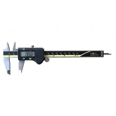 Штангенциркуль электронный Kronos KM-DSM-150 диапазон 0-150/0,01; ±0.02 мм с бегунком сертификат от производителя