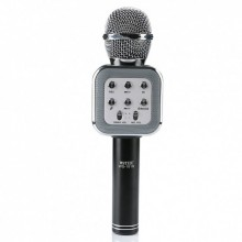Беспроводной микрофон для караоке WSTER WS-1818 (A006556) с функцией изменения голоса Black